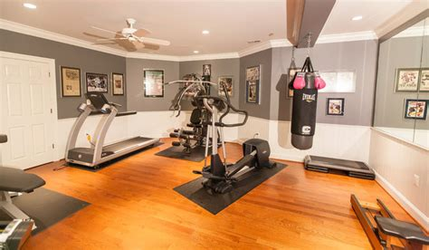 home gym lighting design home gym with large mirror and bright lighting