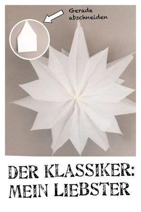 Aus Butterbrotpapier Anleitung by Die Besten 25 Sterne Aus Butterbrotpapier Ideen Auf