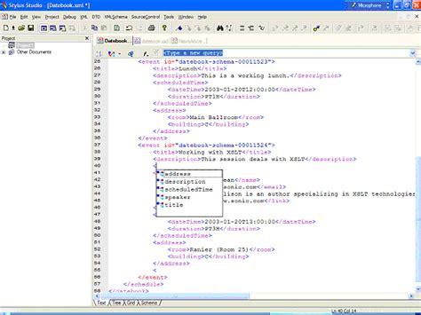 xml xsd tutorial exles xml schema tutorial
