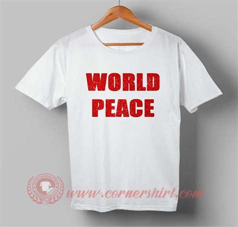 Tshirt Black Choose Peace world peace t shirt cornershirt