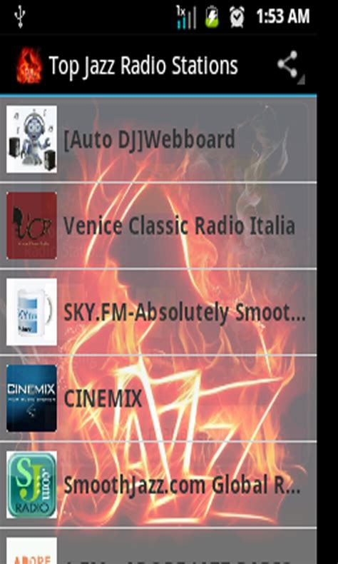 best jazz radio stations top jazz radio stations fr appstore pour android