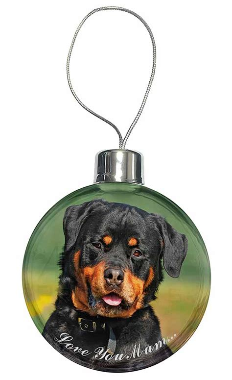 rottweiler tree rottweiler you tree bauble decoration gift id 77067