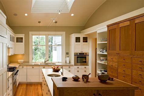 mixing kitchen cabinets mixing wood and painted cabinets kitchen traditional with