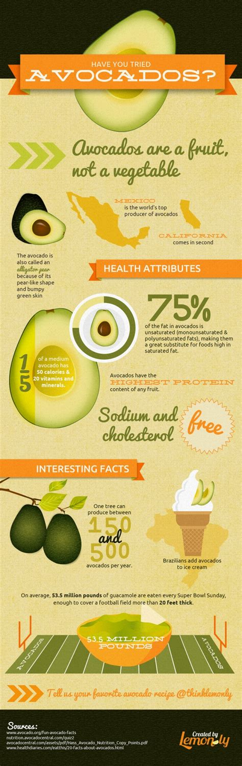 recipe infographics avocados an infographic picture the recipe