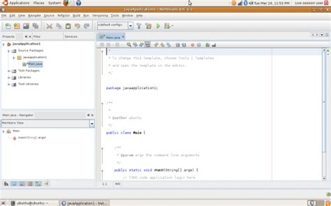 spring tutorial using netbeans tutorial instalar netbeans en ubuntu