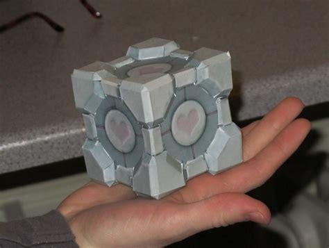 Papercraft Companion Cube - papercraft companion cube by dedean16 on deviantart