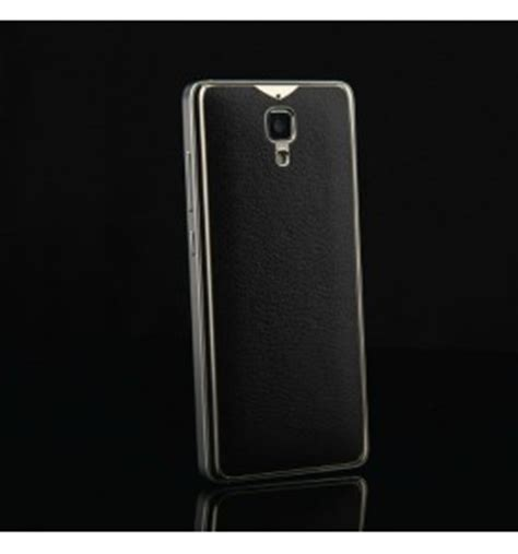 Xiaomi Mi4 Mi 4 Soft Casing Cover Hp Rugged Armor Kick Stand luxury pu leather back cover for xiaomi mi4