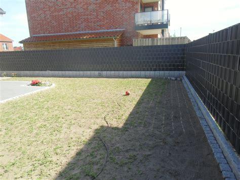 sichtschutz doppelstabmattenzaun sichtschutz z 228 une isb zaunbau