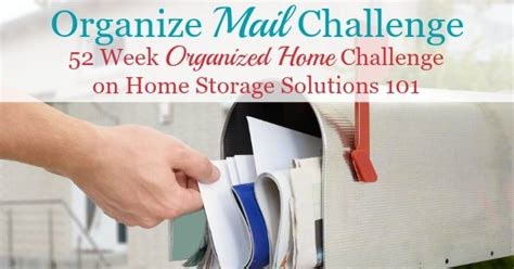 home storage solutions 101 organized home create a home mail organizer center to keep track of your mail