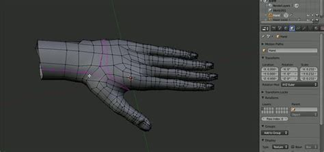 tutorial blender human how to model a human hand in blender 3d 171 software tips