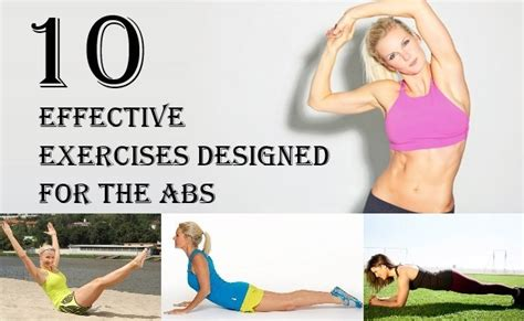 10 effective exercises designed for the abs find home remedy supplements