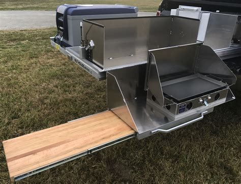 sliding truck bed expedition truck bed tray pullout nuthouse industries
