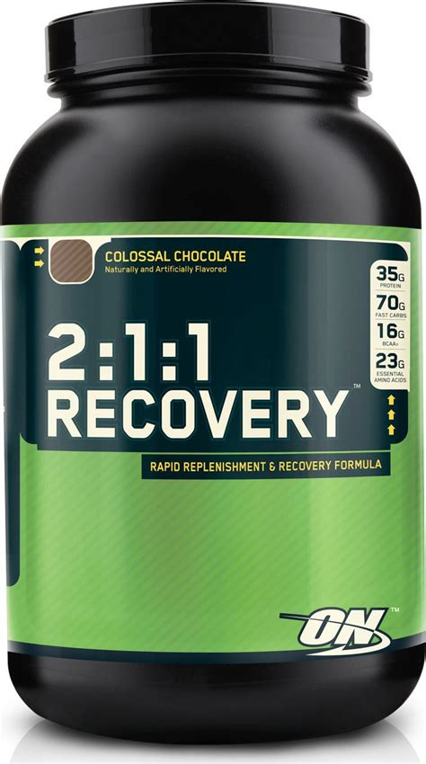 creatine recovery optimum nutrition 2 1 1 recovery post workout protein