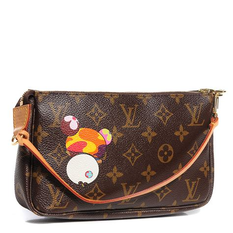 Louis Vuitton Louis Vuitton Superflat Monogram by Louis Vuitton Monogram Murakami Panda Pochette Accessories