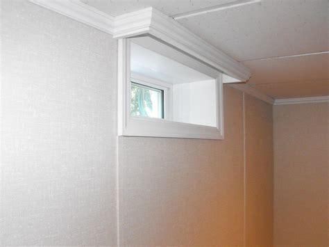 finishing basement windows rooms