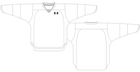 Hockey Jersey Template Pdf Sweater Vest Adidas Hockey Jersey Template