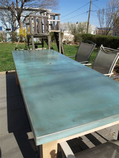 concrete patio furniture top 25 ideas about outdoor dining tables on