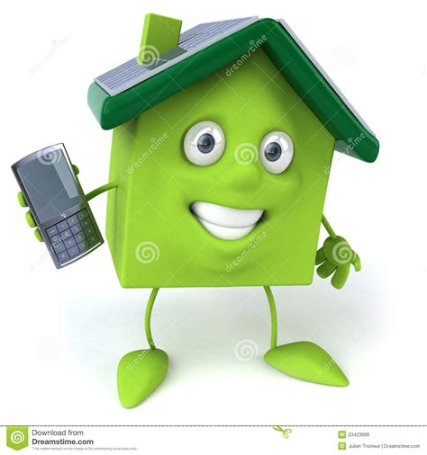green house with solar panels royalty free stock image