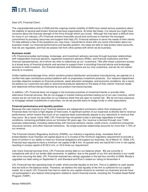 letter to my lpl financial stability letter 1482