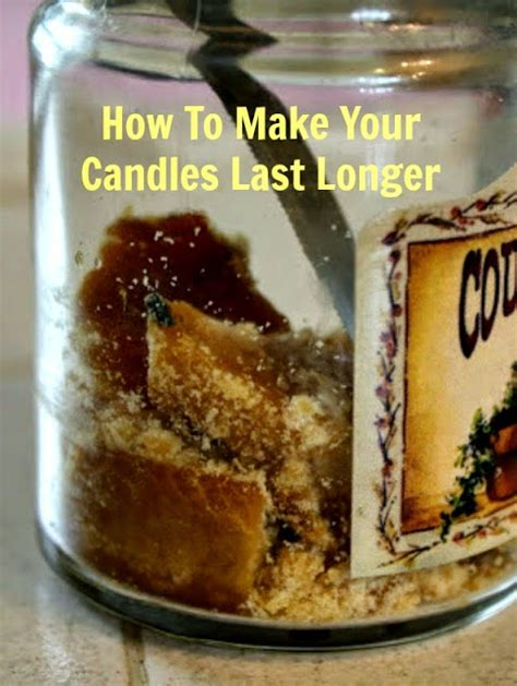 how to make candles last longer sunny simple life extending the life of your favorite candles