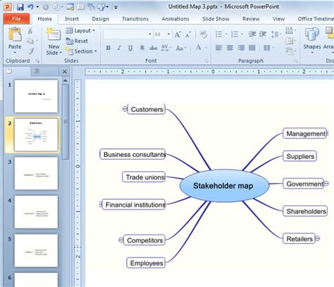 Stakeholder Map Template Powerpoint Presentation Stakeholder Map Template Powerpoint