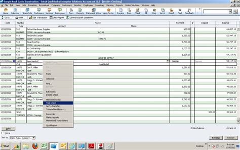 quickbooks tutorial checks how to properly void a check in quickbooks howsto co