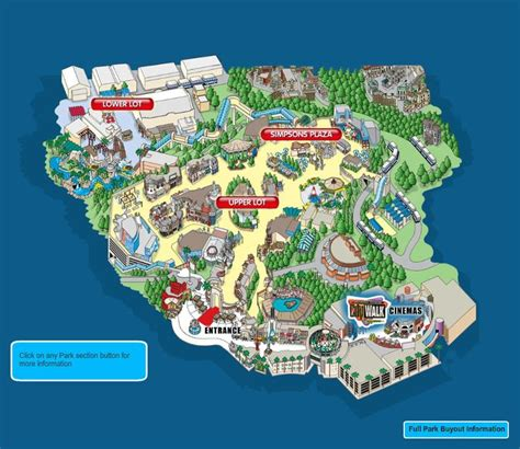 universal studios map universal studios park map usa trip 2016 parks studios and stay at