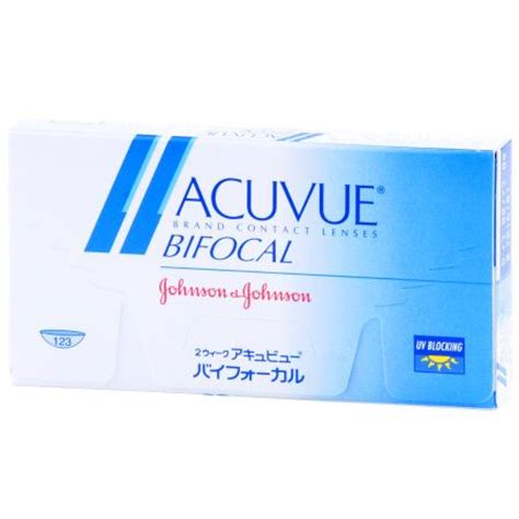 acuvue bifocal contact lenses by johnson & johnson giant