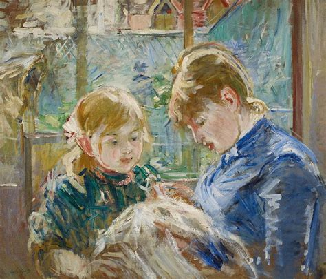 Home Decor App the artists daughter painting by berthe morisot