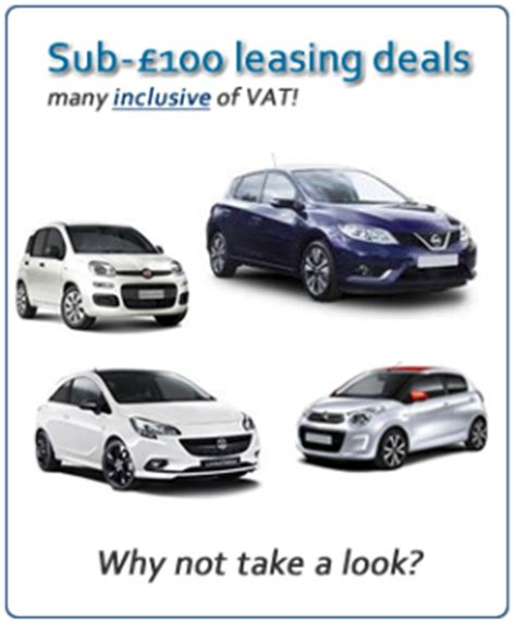 Car Lease 100 A Month by Cheap Car Leasing Offers Business Personal Car Lease Uk