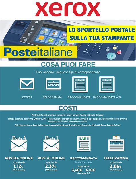 poste italiane ufficio legale l ufficio postale direttamente nella tua stante xerox