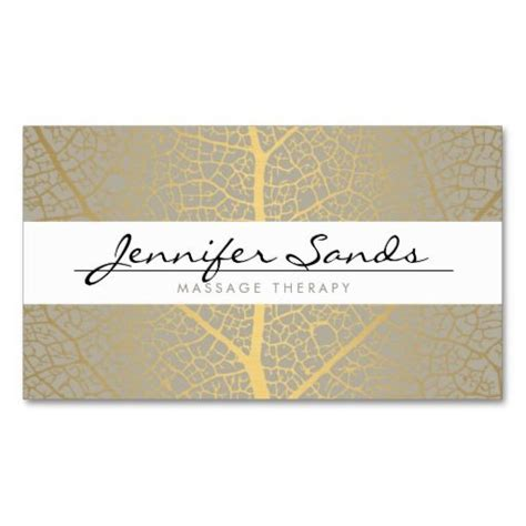 Great Card Template by Name With Gold Tree Pattern Business Card Template