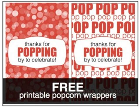 popcorn wrapper template free microwave popcorn wrappers template baby shower just b cause