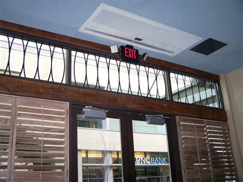 air curtain for restaurant architectural recessed 16 air curtain berner