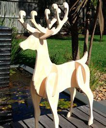pattern for white wooden reindeer wood reindeer patterns free woodworking projects plans