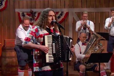 weird al yankovic last week tonight watch john oliver recruits weird al on accordion to