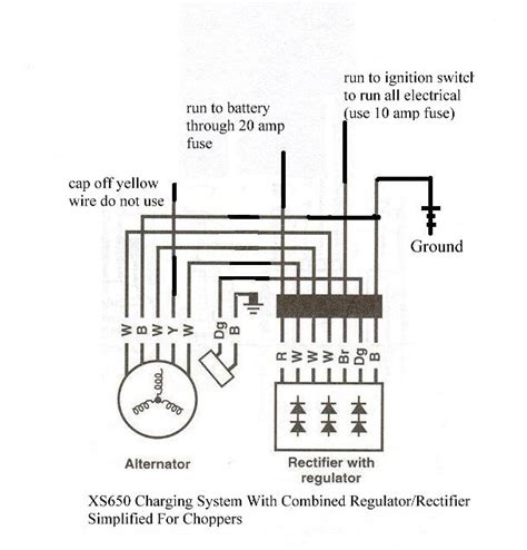 rectifier regulator wiring diagram 34 wiring diagram