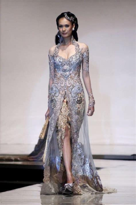 Wedding Dress Designer Indonesia by Timeless Kebaya Kebaya Beautiful Wedding Gown From