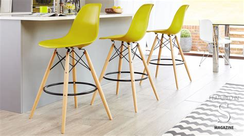 eames style bar stool yellow eames replica bar stool high quality uk fast delivery
