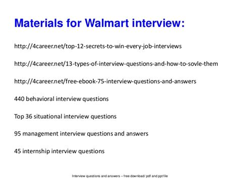 walmart questions and answers