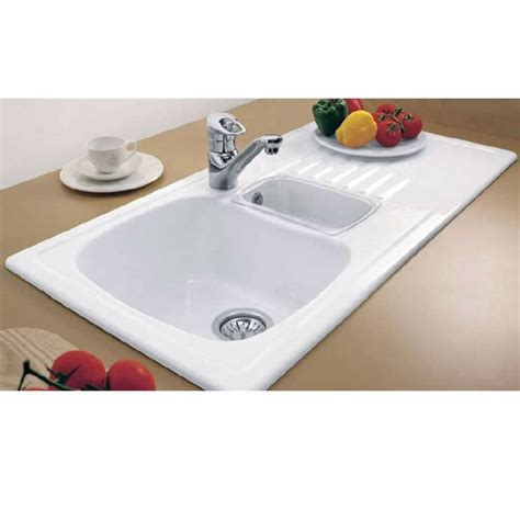 Villeroy And Boch Kitchen Sinks Villeroy Boch Medici 1 5 Bowl Ceramic Sink Kitchen Sinks Taps
