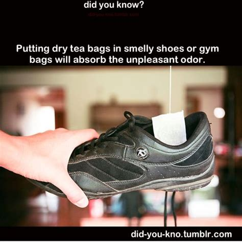 how to remove odor from shoes remove shoe odor with tea bags diy hacks