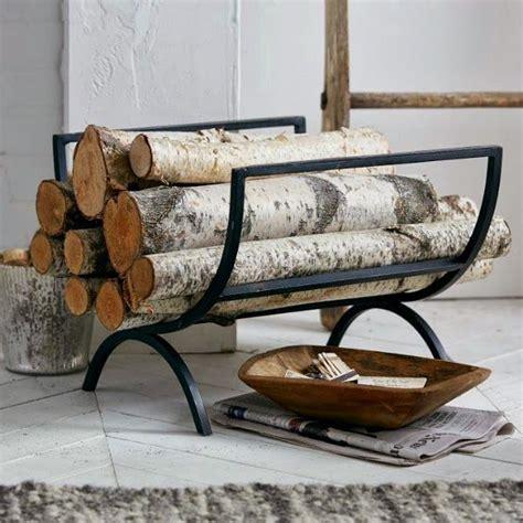 creative firewood storage ideas  modern schmeck