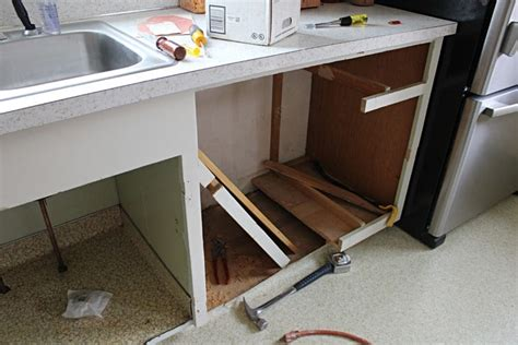 adding a dishwasher to existing cabinets twofeetfirst