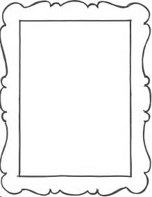 8 best images of picture frame template printable
