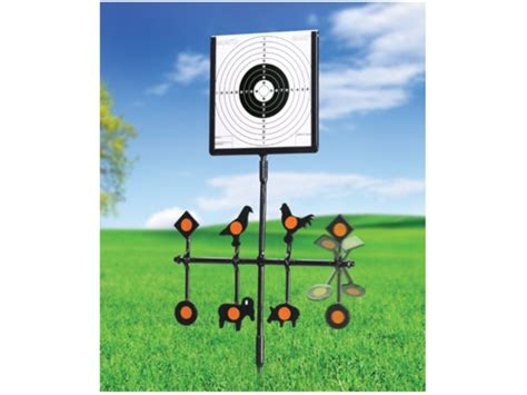 swinging targets gamo spinner deluxe swinging airgun target stand steel black