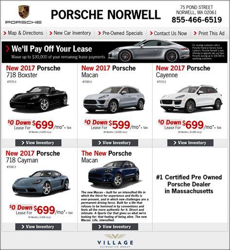porsche dealer boston porsche norwell porsche dealer on boston s south shore