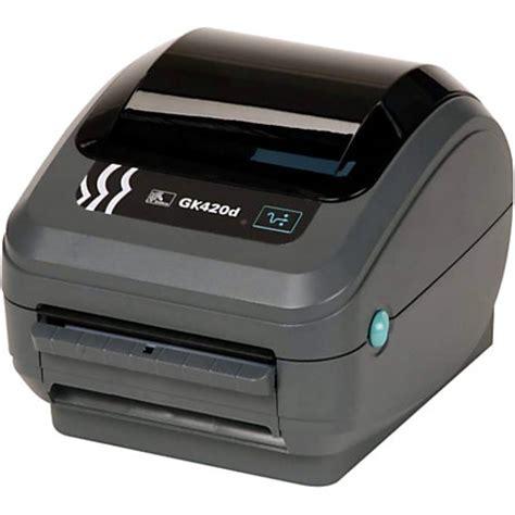 label template zebra printer zebra gk420d direct thermal printer monochrome desktop
