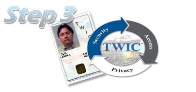 Twic Card Background Check Step 3 Twic Card Process