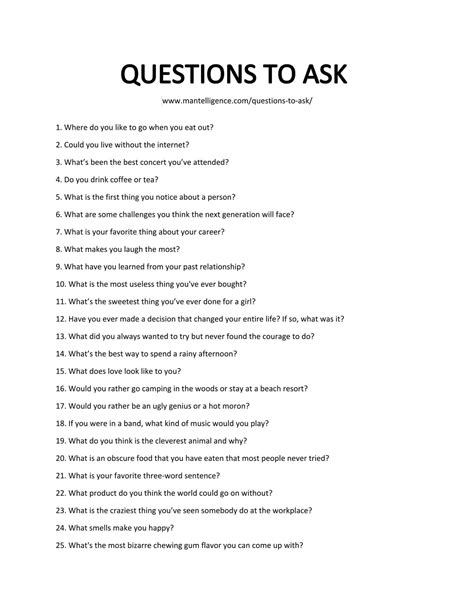 list of questions for celebrities 213 good questions to ask the only list you ll need